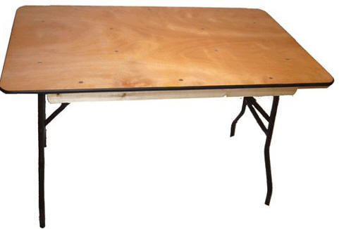 Wholesale Discount Plywood Square Folding Tables