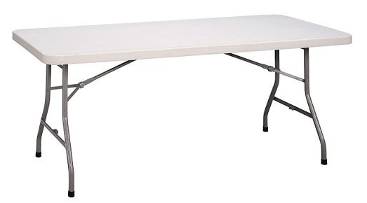 6 ft folding table
